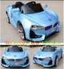 Blaue Farben-elektrische bediente Fahrt auf Kind-Auto