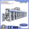 Machine d'impression de rotogravure de film de gestion par ordinateur de trois moteurs dans 150m/Min