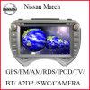 Reproductor de DVD para coche Nissan March