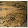 Pavimento non tappezzato delle lastre di marmo di Onxy, mattonelle di pavimentazione naturali