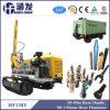 Hf138y Steel Crawler Drilling Rig pour projet de clouage de sol