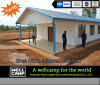 Economico e Luxury Prefab Modular House nell'Uganda