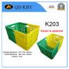 Panier en plastique de la rotation K203, caisse de rotation