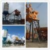 Planta de procesamiento por lotes por lotes concreta semiautomática con la tecnología avanzada Hzs75) (