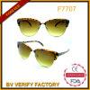 F7707 glaces à la mode neuves de Madame Sunglasses Trendy Metal Mixed