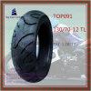 Super Kwaliteit, de Zonder binnenband, Met lange levensuur Band van de Motorfiets van ISO Nylon 6pr met Grootte: 130/70-12tl