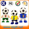 USB all'ingrosso 2014 di Factory Bulk Cheap World Cup Brasile Promotional Item Gift Rubber Football Pen Flash Drive 2GB