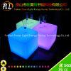 カラー変更のプラスチックRGBによって照らされるLED立方体の椅子