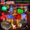 Halloweenパターン庭のレーザー光線LEDの軽いレーザー光線