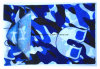 الصين مصنع إنتاج عامة طبلة زرقاء تمويه عنق وشاح أنبوبيّة