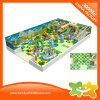 El plástico de interior embroma el equipo del patio de los juguetes del área de juego para los niños