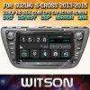 De Auto DVD van het Scherm van de Aanraking van de Vensters van Witson voor het Kruis 2013 2015 van Suzuki S
