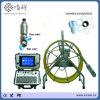 60 der Fiberglas-Kabel-Schubstange-Abwasserkanal-Meter Zeilen-Kamera-Inspektion-Gerät mit 50mm Wannen-Neigung-Umdrehungs-Kamera-Kopf