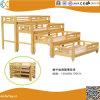 روضة أطفال أطفال سرير خاصّ أربعة طبقة [سليد ووود] سرير ساحب