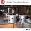 2017China fabriek Smeltende Oven van de Inductie van Coreless van de Frequentie van 0.5 Ton de Middelgrote