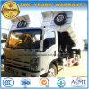 Autocarro con cassone ribaltabile delle rotelle di Isuzu 4X2 6 5 tonnellate di ribaltatore per l'esportazione