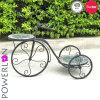 고전적인 옥외 모자이크 자전거 재배자 대