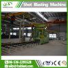 Rolos grandes Atravessar a linha de tratamento prévio com chapa de aço Granalhagem máquina com a SGS