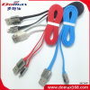 iPhone를 위한 USB 케이블 USB 케이블을 비용을 부과하는 이동 전화 부속품