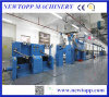 Máquina de la protuberancia de cable de la Piel-Hacer espuma-Piel de la alta precisión