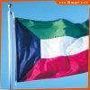 Su ordinazione impermeabilizzare e bandiera nazionale del Kuwait della bandiera nazionale di Sunproof