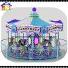 Conduites pourprées et de bleu de couleurs grandes de carrousel de peinture grande