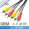 Sipu 30AWG 3RCA aan 3RCA de Kabel van AV voor Video