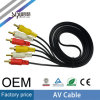 Sipu 3RCA a 3RCA 3.5mm Audio Plug Cable de salida AV