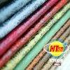 Cuero respirable del PVC con el nuevo forro del diseño y del sofá (Hongjiu-2032#)