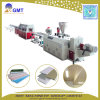 Décoration de PVC en plastique les dalles de plafond Corner Making Machine Extrudeuse