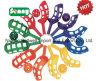 Insieme di plastica del gioco di sfera della cattura dei giocattoli della paletta dei capretti stabiliti esterni del gioco di alta qualità