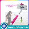 Palillo integrado de Selfie del alambre del cable de la cámara del teléfono móvil de la alta calidad