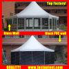 De in het groot Witte Hexagon Tent voor Auto toont Diameter 8m de Gast van Seater van 30 Mensen
