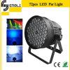 Nueva 72PCS * 3W LED RGB Efecto de luz / PAR para Wall Lavado