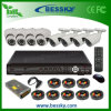 Cubierta Vision System bricolaje 8CH CCTV / noche al aire libre (BE-8108V4IB4RI42)