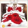 Китая оптовой продажи полиэфира постельного белья листа используемый домом романтичный Rose декора комплект 100% спальни 3D