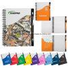 Ensembles de blocs-notes Colorful Wave pour cadeaux promotionnels