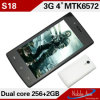 가장 싼 4.0  WVGA 3G Smart Phone Android 4.4.2 OS WCDMA+GSM GPS