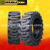 Neumático doble de la marca de fábrica de la moneda, neumático sólido de Skidsteer (10-16.5 12-16.5)