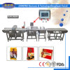 Detector de metais combinados com alimentos e verificação da escala de pesagem