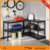 Новый шкаф хранения конструкции, светлая обязанность прорезанные шкафы Shelving угла