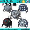 La IGUALDAD plástica de la etapa de la venta al por mayor PAR64 LED puede encenderse