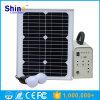 10W 20W 50W 100W nachladbares LED SolarStromnetz-Licht für Haus/weg Rasterfeld-SolarStromnetz-/DC Abd vom Wechselstrom-SolarStromnetz