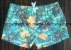 A tela de Mose embarca Shorts, Shorts impressos flor da praia do homem