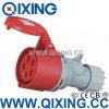 Разъем европейского стандарта Qixing женский промышленный (QX-5)