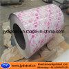 花デザインカラー上塗を施してある鋼鉄Coil/PPGI