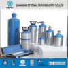 Cilindro de gás de alumínio médico de alta pressão do oxigênio