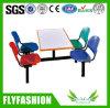 Tableau bon marché de Reataurant de mobilier scolaire avec la présidence (DT-06)
