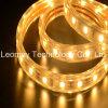 El blanco caliente IP68 impermeabiliza la luz flexible de la lista de las tiras de 5050SMD LED