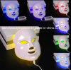 Подмолаживание PDT кожи лицевого щитка гермошлема светлой красотки цвета СИД терапией 7 лицевое